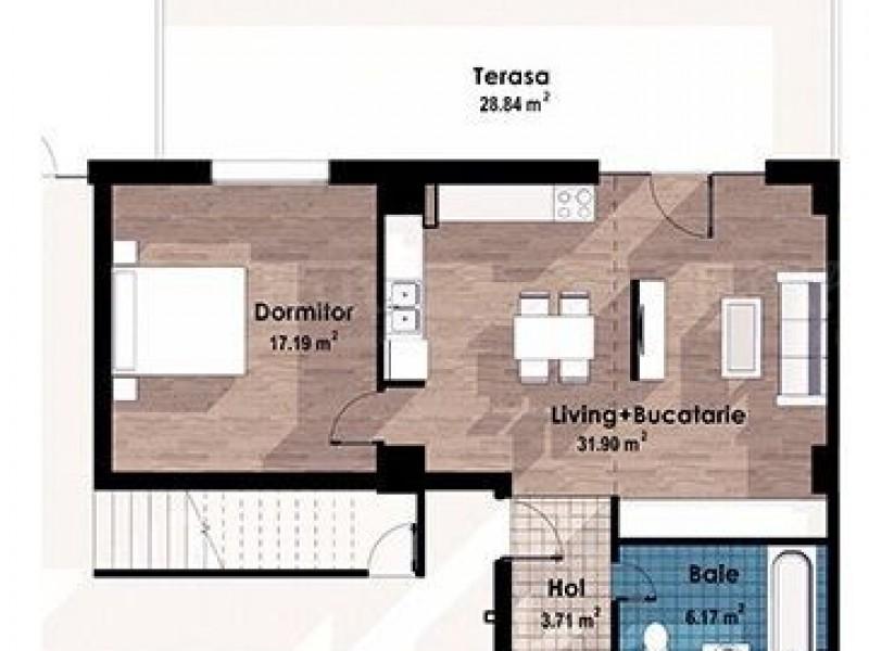 Apartament Cu 2 Camere Europa ID V674896 7