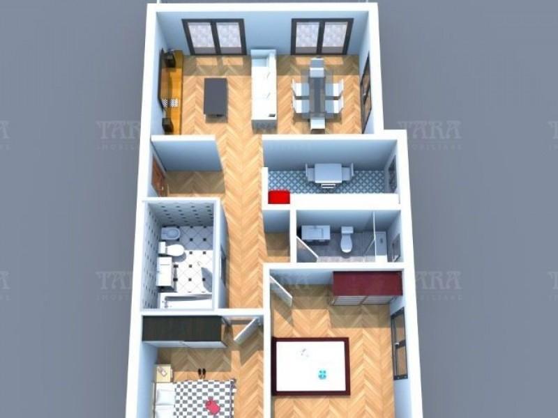 Apartament Cu 3 Camere Floresti ID V661950 5