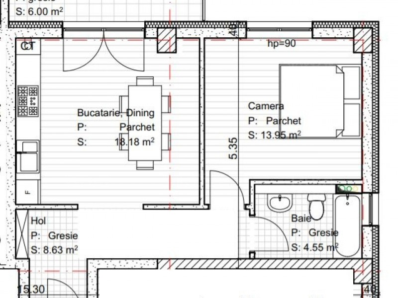 Apartament Cu 2 Camere Dambul Rotund ID V560513 1
